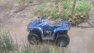 4x4 350 Yamaha bruin with ownership. Needs top end