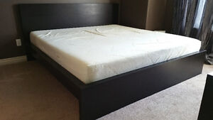 Ikea MALM King size bed frame - Mattress NOT included