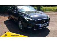 2016 Infiniti Q30 1.5d SE with One Owner Manual Diesel Hatchback