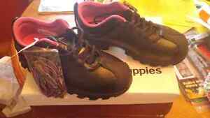 Brand new!!!  Hush Puppie safety shoes ladies 7.5