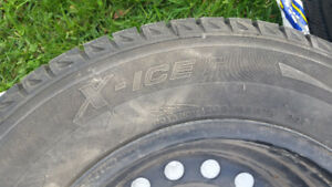 Michelin X-Ice 2 Winter Tires w/ Rims 15 inch 5X114.3 Bolt Pat.
