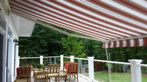 Auvent retractable - retractable awning 2008