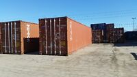 40' Best Delivered Prices on Storage and Sea Shipping Containers