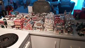 Village de Noël -Maisons- Vintage Retro - Christmas Village