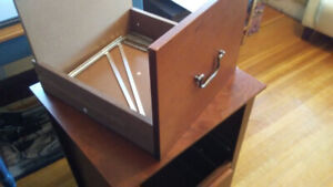 Free Wooden Filing Cabinet