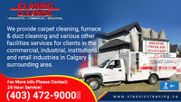 Calgary-Area Carpet, Furniture & Flood Cleaning