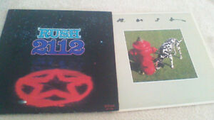 """2 Rush Album Lot :  """"2112 """"  &  """"Signals"""""""