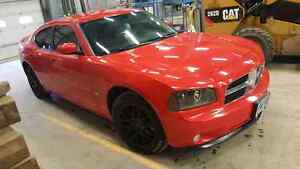 2010 dodge charger sxt leather black rims safety and etested  Kitchener / Waterloo Kitchener Area image 4