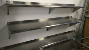 BEST OFFER – New Stainless Shelving & Tables Liquidation