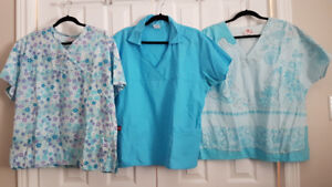 Scrub tops and pants various sizes