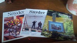Three Peter Etril Snyder Catalogues, 1990, 1991, 1992 Kitchener / Waterloo Kitchener Area image 1