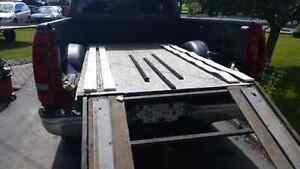 Snowmobile  or quad ramp