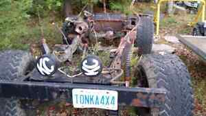 Jeep cj7 rolling chassis