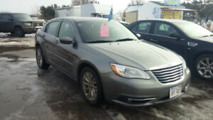 2012 Chrysler 200 Touring fully loaded inspected sharp and clean