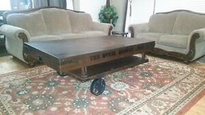 Extra Large Decorative Accent Coffee Table-  deluxe