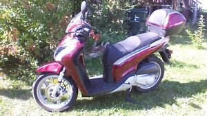 Almost new scooter