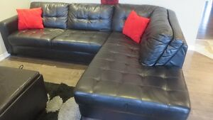 2 year old sectional sofa from The Brick