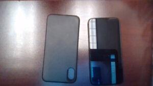 iPhone X 64GB space grey- black