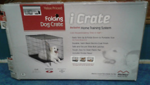 Extra large dog crate - new condition - for sale or trade