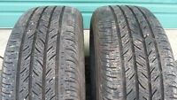 2 Continental size 215 60 16 all season tires