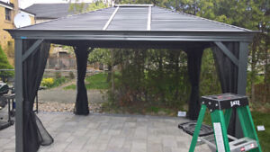 Gazebo, Sheds, Patio furniture Assembly!