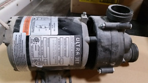 Motor for jetted tub