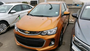 2017 CHEVROLET SONIC RS LT MINT