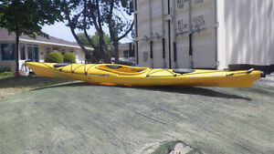 Wilderness Tsunami SP 12' kayak with rudder
