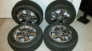 """Jeep 17"""" Rims w/ Goodyear Integrity Tires"""