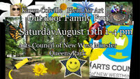 Outdoor Family Fun Eco Art Event Sat Aug 11th,1-4 pm Queens Park