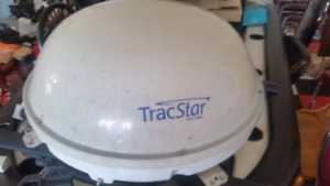 Tracstar bell in motion satellite dish
