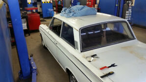 1966 Cortina GT original paint needs finishing
