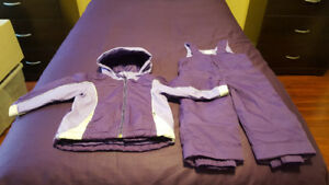 Girl's Children's Place 2-Piece Snowsuit - Size : 18 - 24 Months