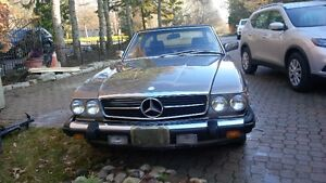 Mercedes Benz 560 SL 1987