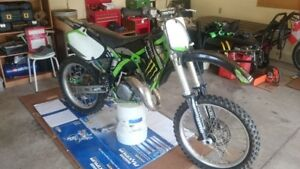 1999 kx125 with ownership for trade