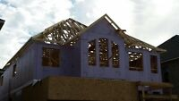 Carpenter with experience in framing new homes