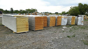 Insulated Steel Panels - tongue & groove steel clad insulation