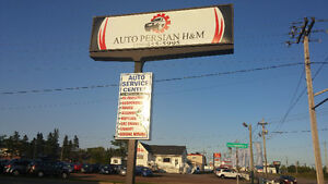 auto repair and tire changes