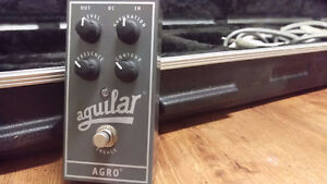 Aguilar Agro bass overdrive pedal London Ontario image 1