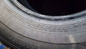 All season tires 235/65/16