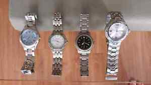 Watches , hand watches, clocks, used