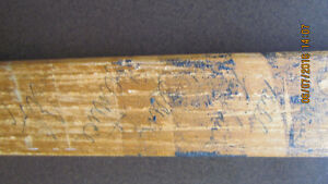 70's Hockey stick with multiple autographs. Kitchener / Waterloo Kitchener Area image 2
