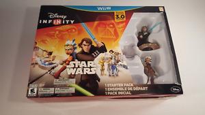 NEW Nintendo Wii U Disney Infinity Star Wars Starter Pack