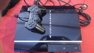 40 gig Playstation 3 1 controller, charger & HDMI cable
