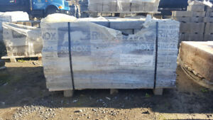 1.5 pallet of Rinox Capri interlock ash charcoal