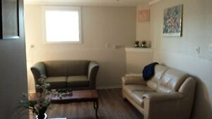 2 unfurnished bedrooms for rent in a shared accommodation suite.