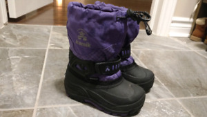 Like New: size 9 (toddler) Kamik winter boots