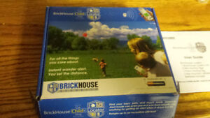 Brickhouse child locator. New in box