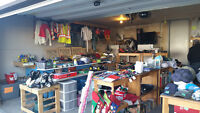 Garage Sale Moving Out of Province