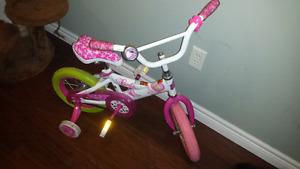 Girls 12inch barbie bike